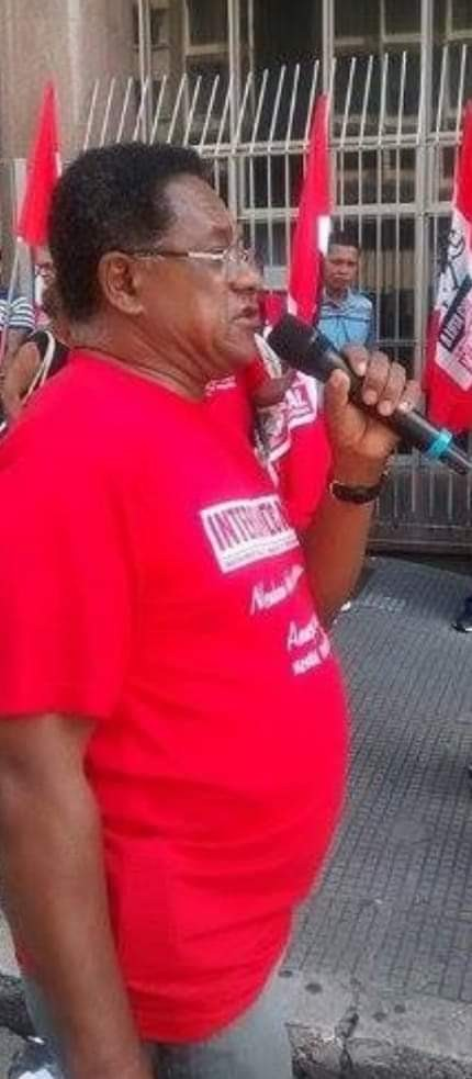 NOTA DE PESAR  PELA MORTE DO COMPANHEIRO ELIEZER
