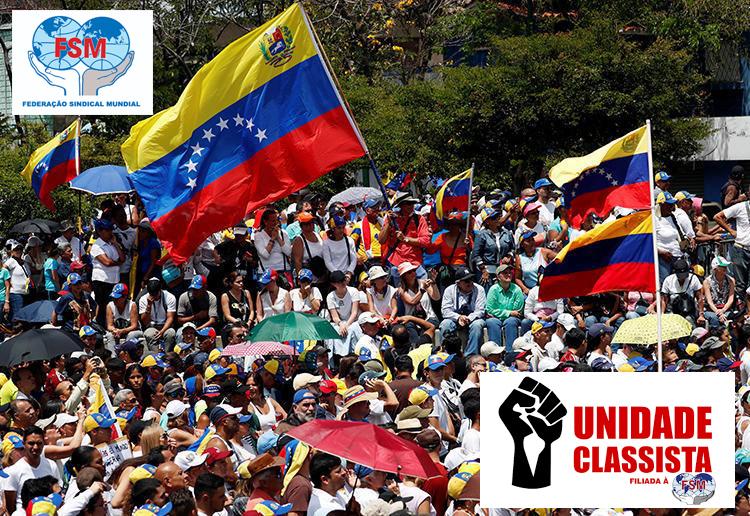 Parar o intervencionismo da UE contra a Venezuela!