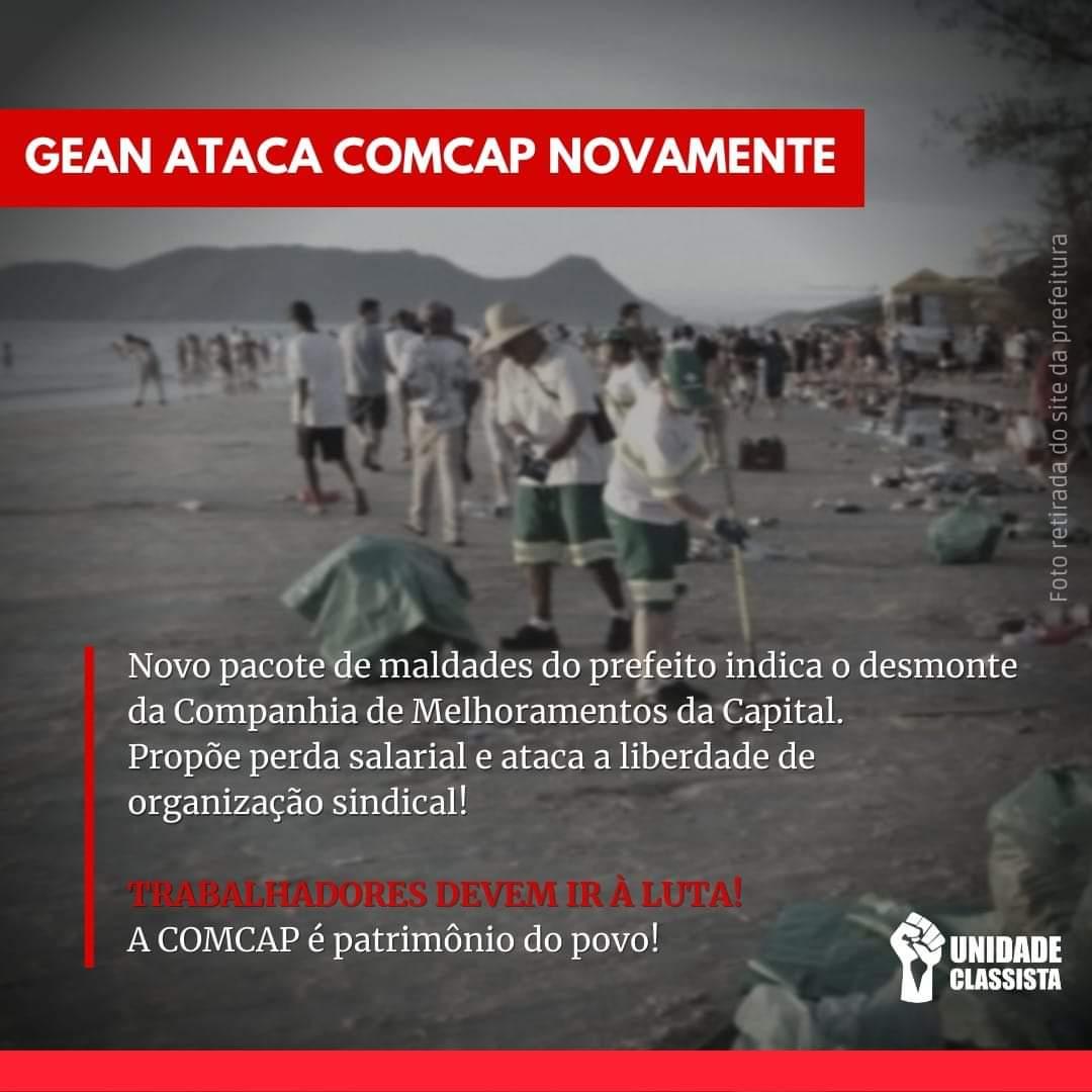 GEAN ATACA COMCAP NOVAMENTE