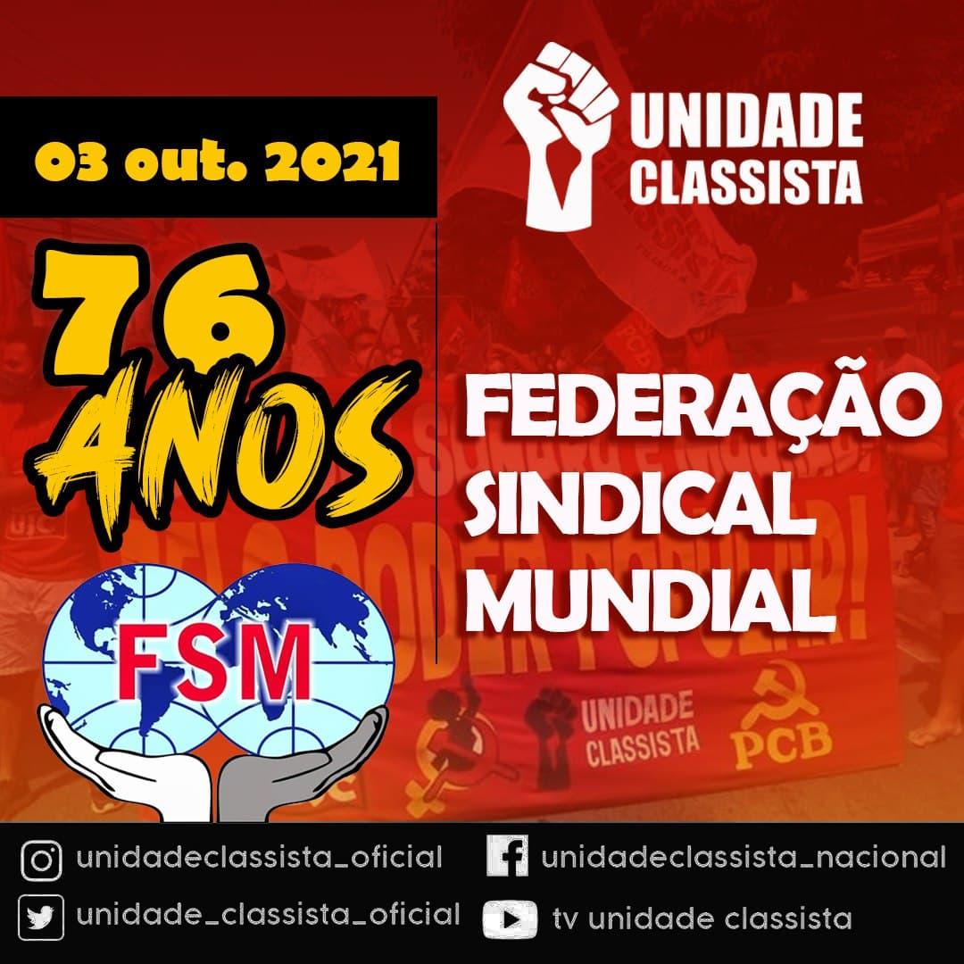 SAUDAÇÃO AO 76º ANIVERSÁRIO DA FSM